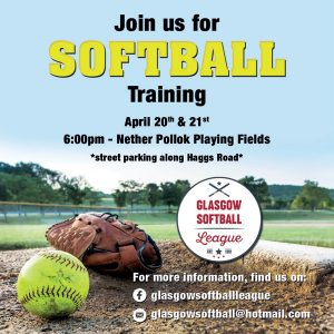 Softball flier